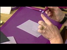An Introduction to Parchment Craft with Pergamano - Part 1   Craft Academy - YouTube