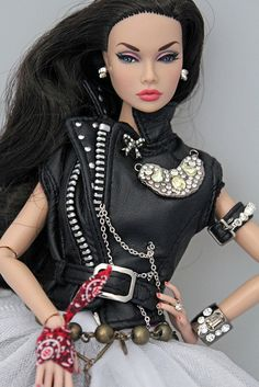 Poppy - biker glam by Intégrité, via Flickr. Poppy is, Rebel With A Cause - Fashion!