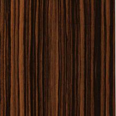 Zebra Dark HG is a High Gloss linear zebrawood with uneven streaks of cream, orange, and brown red patterns great for cabinet doors and drawer fronts. Laminate Texture, Wood Floor Texture, Wood Laminate, Walnut Texture, Dark Wood Floors, Modern Bedroom Decor, Creative Walls, Wainscoting, Texture Design