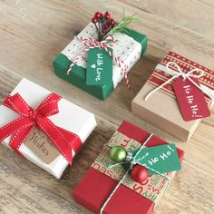 Kraft favour boxes, also great for small Christmas gifts. Christmas Favors, Christmas Gift Baskets, Christmas Gifts For Girls, Cheap Christmas, Christmas Gift Box, Christmas Gift Wrapping, Diy Gifts, Holiday Gifts, Christmas Crafts