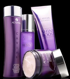 My (professional cosmetologist) favorite hair care line for almost ANY type of hair. Alterna Caviar collection!