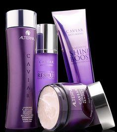 Les soins capillaires Caviar d'Alterna ! #TheBeautyHours