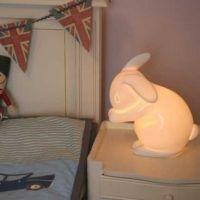 White Rabbit nachtlampje konijntje