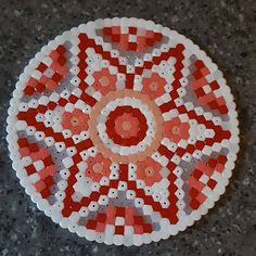 Mandala hama beads by athreadstale More