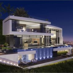 Just Look At This Setup!! Mansion InteriorUltra Modern HomesModern ...