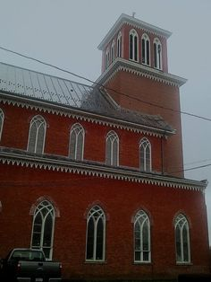 Notre Dame Catholic Church in Ogdensburg, NY incorporated in 1859.    L'Abbe Francois Piquet founded Ogdensburg November 21, 1748. He called his mission LaPresentation. He said the first mass June 1, 1749 on the spot where now stands Notre Dame, the largest Church in the Diocese of Ogdensburg. Thus, 241 years ago, began the long and honorable history that saw the development and flourishing of Notre Dame Church.