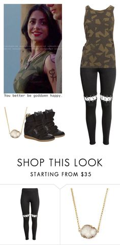 """Isabelle Lightwood sport outfit - Shadowhunters"" by shadyannon ❤ liked on Polyvore featuring H&M, Jules Smith and Isabel Marant"