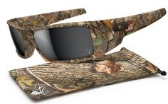 cb2739c869 Oakley Gascan Sunglasses with King s Woodland Camo Frame and Black Iridium  Lenses