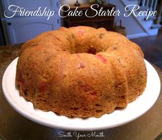 South Your Mouth: Friendship Fruit Cake {plus Starter Recipe}