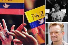 U2 y Manu Chao celebran la llegada de la paz a Colombia - Estereofonica
