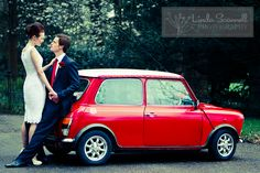 red white and blue wedding #60s