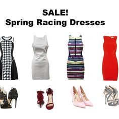A few of our stunning spring racing dresses starting at under $79.50! Whether you love classic monochrome or bold pops of colour and statement prints there are some seriously gorgeous styles available now no matter your taste. Just add a fascinator and heels and you're good to go! Shop with the link in bio  enjoy your weekend all!  #birdmotel #springracing #melbournecup #dresses #fashion #races #spring #ootn #heels #shoes #love #instagood #potd #shopping #sale #discount