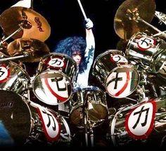 Eric Carr, Peter Criss, Hot Band, A Good Man, Rock Bands, Rock N Roll, Drums, Kiss, Fox