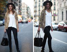 H&M Jacket, Zara Hat, Zara Jeans, Nowistyle Bag