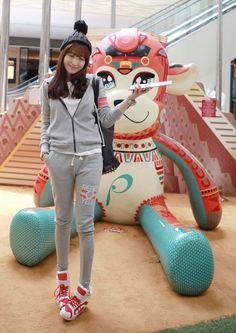 Cute Sweatsuit #Miamasvin #KoreanFashion #AsianFashion