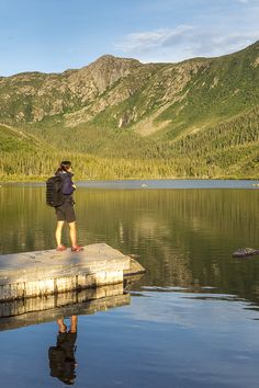The spectacular Chic-Choc Mountains, with 25 peaks over 1000 metres high. A multitude of trails with breathtaking panoramic views to explore throughout Gaspésie. Bike Trails, Hiking Trails, Parc National, National Parks, Hiking Site, Acadie, New Richmond, Excursion, Kayak