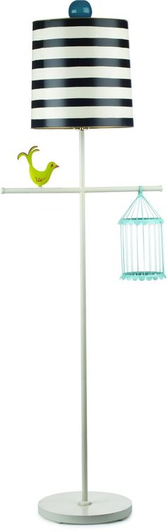 Cute Bird Lamp ... @Lacy Fouraker Van Sickle this would be great for a nursery at your house!!