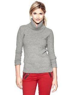 Cowl neck sweater $34  Prefer beige then grey in Petite Medium