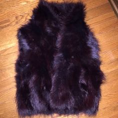 adrienne landau Jackets & Coats - Adrienne Landau Racoon Fur Vest Small S Reduced!