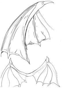 Bat Wings Drawing | bat wings by cybololz
