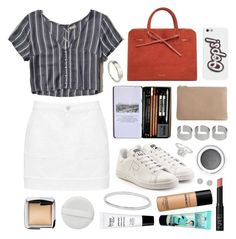 """""""Suede Sun"""" by sophiehackett ❤ liked on Polyvore featuring Hollister Co., adidas, Wittner, philosophy, ASOS, Catbird, H&M, Anya Hindmarch, Benefit and NARS Cosmetics"""