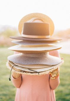 All the hats a girl could ever need. Shop #gigipip!