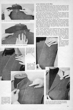 Attaching the (under)collar - The Coatmaker's Forum - The Cutter and Tailor