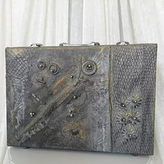 Steampunk project. Computor bag from garbish can.