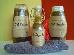 Un petit pas-à-pas pour fabriquer son gel douche maison, avec des ingrédients naturels...