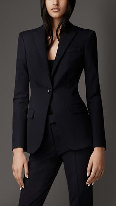 Tailored Cotton Twill Jacket | Burberry