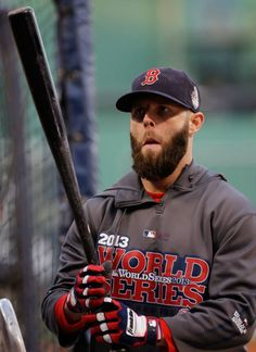 Dustin Pedroia...hotter with a beard