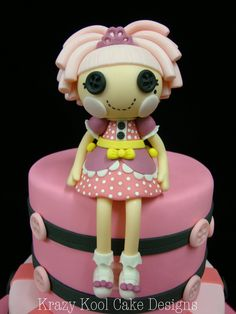 Lalaloopsy Cake Topper by KrazyKoolCakeDesigns on Etsy