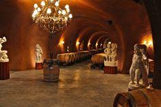 Paoletti Estates Winery, Wine Cave