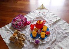 Aktion 2 im Vileda 100°C Hot Spray Produkttest: Dank der hygienischen Reinigung konnte Testerin Kamima mit ihrer Tochter entspannt ein Picknick auf dem Boden veranstalten :)