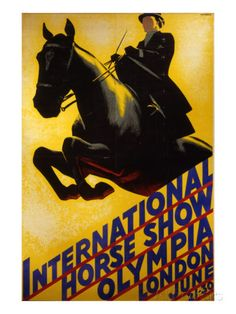 International Horse Show Advert Giclee Print at AllPosters.com