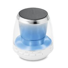 Boxa Bluetooth cu lumina ambientala, din ABS, cu lumina colorata si bluetooth 2.1. Include cablu micro USB, cablu de incarcare si baterie reincarcabila Li-Ion de 400 mAh. Caracteristici: 3W, 4 Ohm si 5V. Difuzorul poate fi #personalizat cu logo-ul dvs. la comanda, in functie de necesitatile de branding ale companiei. Logo Nasa, Bluetooth, Pools
