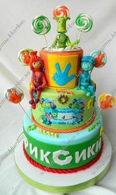 Торт для мальчика-Фиксики