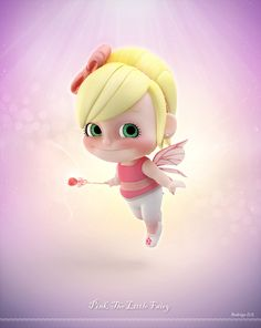 Pink, The Little Fairy by Rodrigo D. Silva   Cartoon   3D   CGSociety