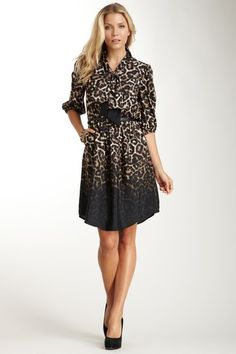 Cheetah Print Dress by Vince Camuto on @HauteLook