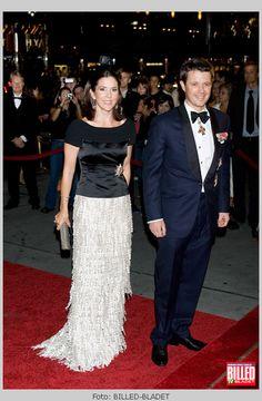 HRH Crown Prince Frederik & HRH Crown Princess Mary of Denmark.