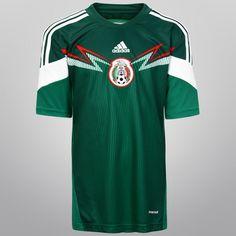 Jersey Adidas Selección de México Casa 2014 s n° Infantil -  globals.seo.storename 068234075839c