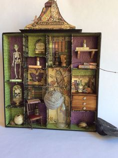 Awesome apothecary from Diane's workshop using Rare Oddities! #graphic45
