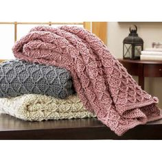 Savannah Crocheted Afghan
