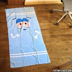 Towelie The Towel How has it taken this long for this product to come out? The famous stoner character Towelie from South Park is finally an actual towel. Guaranteed to turn some heads and get some attention at the beach, this Towelie Towel is the perfect gift for any South Park fan. BUY IT HERE