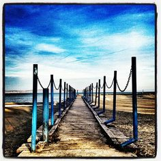"""#lake #Balaton"" Railroad Tracks, Wind Turbine, Bali, The Unit, Colors, Instagram Posts, Colour, Color, Train Tracks"