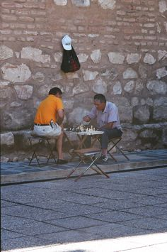 chess outside Cordoba Cathedral, Argentina #chess #argentina #cordoba