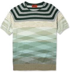 5821f427674 I just got this - Loyal Army loves Missoni Knitted Cotton Crew Neck T-Shirt