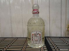 Eau de Cologne du Coq Guerlain for men 250ml. Vintage 1981 Cologne by MyScent on Etsy