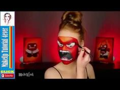 'INSIDE OUT' Makeup Tutorial (Anger & Fear)