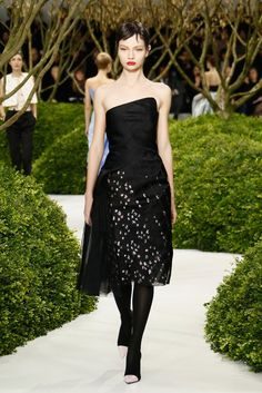 Christian Dior: Runway - Paris Fashion Week Haute-Couture Spring/Summer 2013